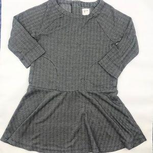 GAP kids Girls Herringbone Dress XS (4-5)